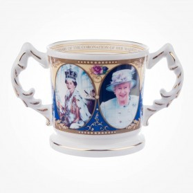 Aynsley Commemorative Coronation Stafford Tankard
