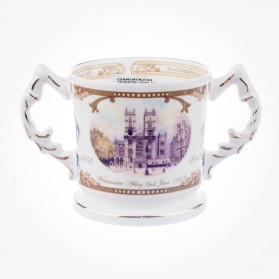 Aynsley Commemorative Royal Baby loving cup
