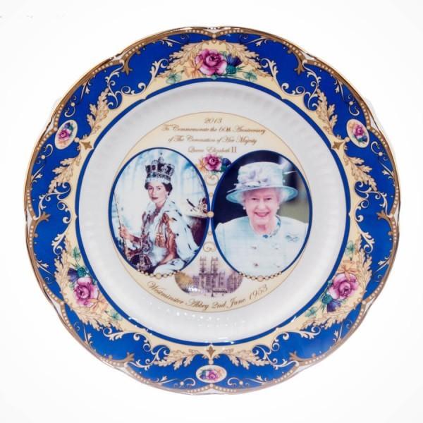 Commemorative Crown China Plates 10.5