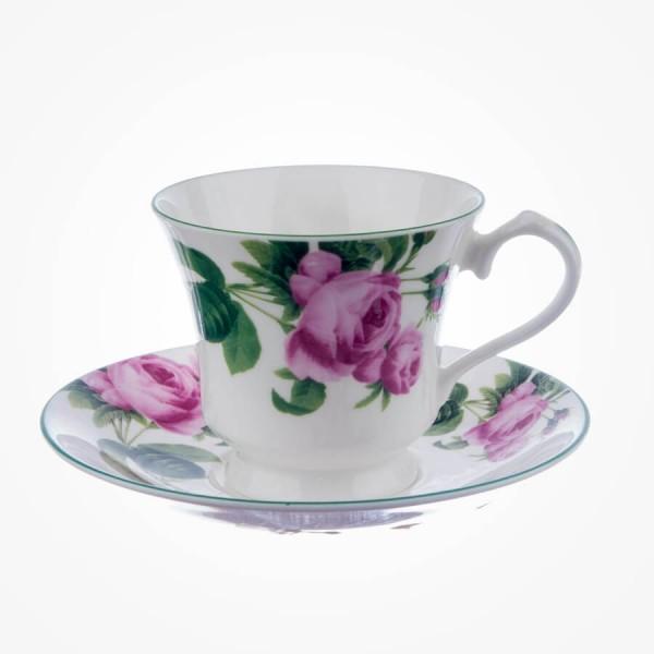 English Rose Tea cup & Saucer Lancaster