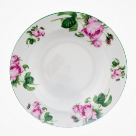 English Rose Soup Plate 9.25""