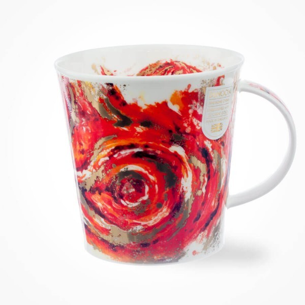 Dunoon mugs Cairngorm Nebula Red Mug