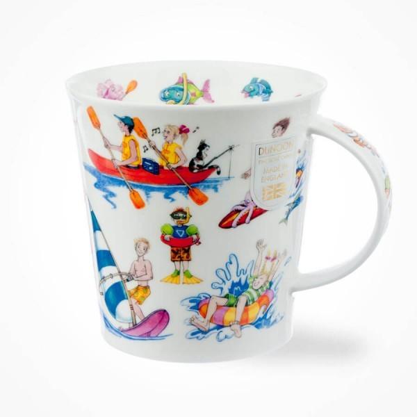 Dunoon mugs Cairngorm Troubled waters Mug