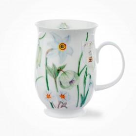 Dunoon Suffolk Sonata White mug