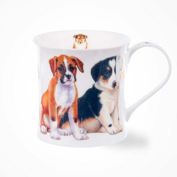Dunoon Wessex Puppies Boxer Mug