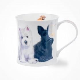 Dunoon Wessex Puppies Westie Mug