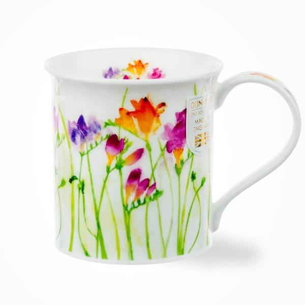 Bute Floral Haze Freesia mug