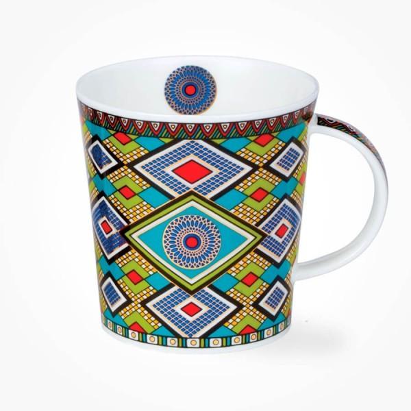 Dunoon Masai Blue Lomond Shape Mug