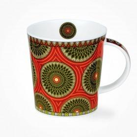Dunoon Masai Orange Lomond Shape Mug