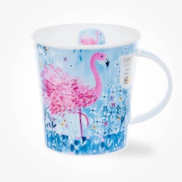Dunoon Lomond Fancy Feathers Flamingo