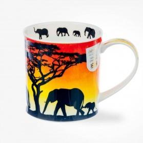 Dunoon Orkney Savannah Mugs Elephant
