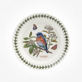 Portmeirion Botanic Garden Birds 6 inch plate West Bluebird