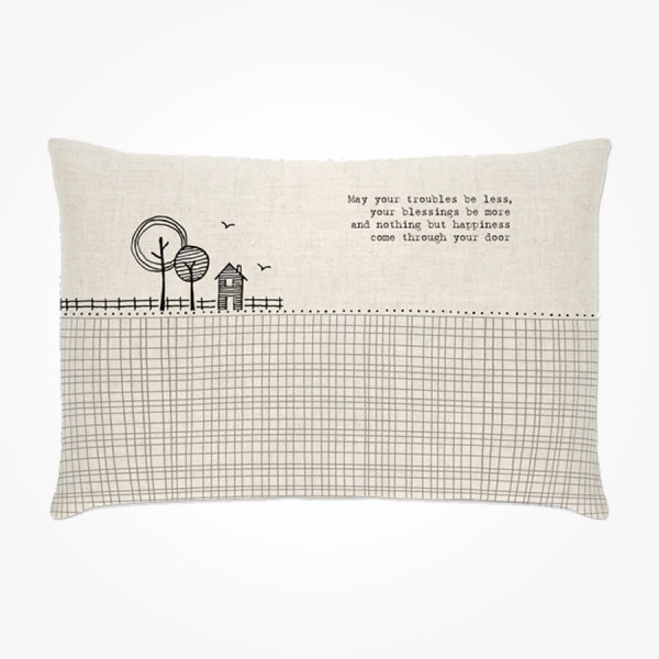 Long Cushion May your troubles be less