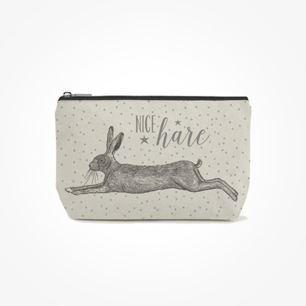 East of India Cosmetic bag Hare