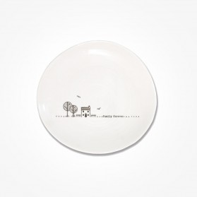 Wobbly Plate 14.5cm Family forever