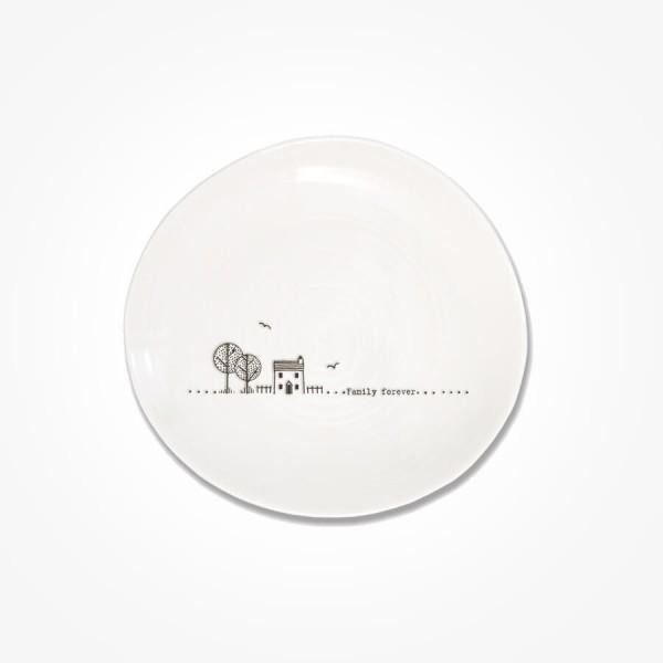 Wobbly Plate 14cm Family forever