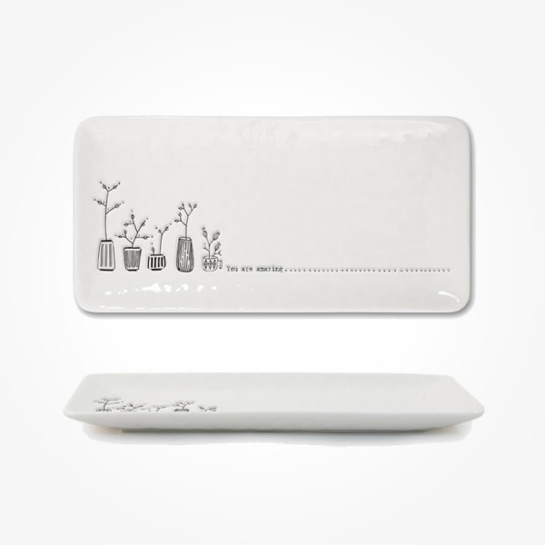Long Trinket Dish 20cm You are amazing Gift Box