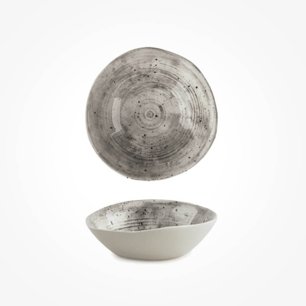 Hand Painted Bowl Speckled Wash Medium