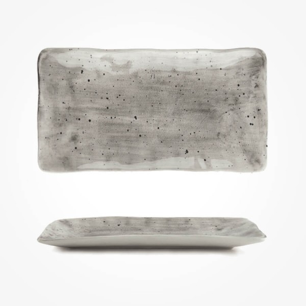 Painted trinket dish-Speckled wash 20cm Gift Box