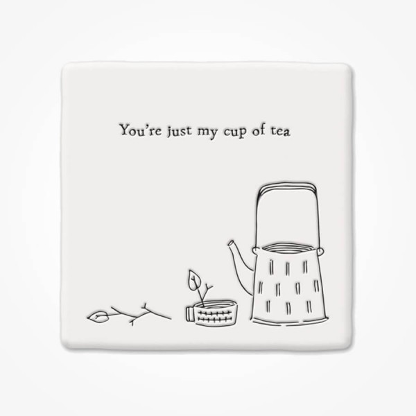 Square Coaster Just my cup of tea