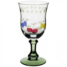 French Garden Water Goblet 17cm single