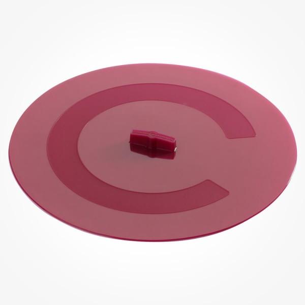 Silicone Round cover fuchsia 30cm red