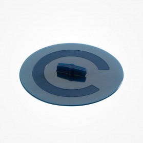 Silicone Round cover Lagoon 17cm Blue