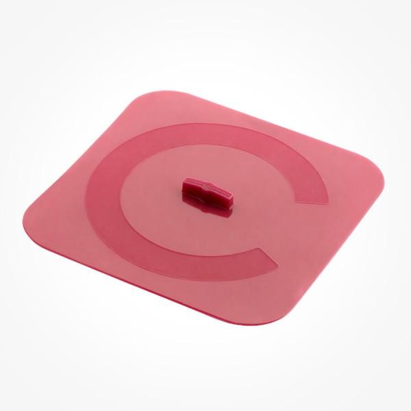 Silicone Square cover 26cm red