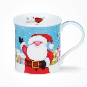 Dunoon Mugs Bute Christmas Post Santa
