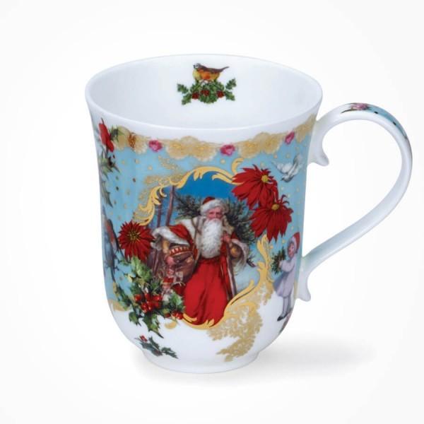 Dunoon Mugs Braemar Shape Vintage Christmas