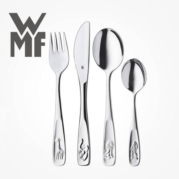 WMF Animal 4 Piece Cutlery box Set