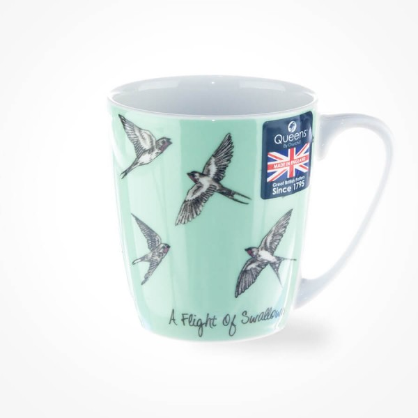The In Crowd A Flight of Swallows Acorn Mug