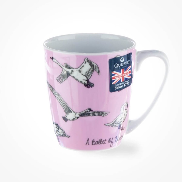 The In Crowd A Ballet of Swans Acorn Mug