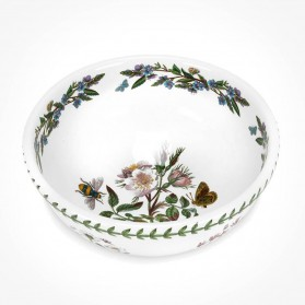 Botanic Garden 9 inch Salad Bowl Dog Rose