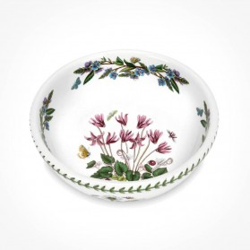 Botanic Garden 8 inch Salad Bowl Cyclamen