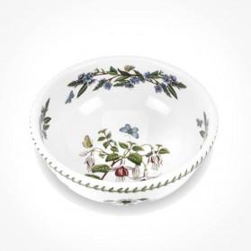 Botanic Garden 8 inch Salad Bowl Fuchsia