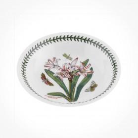 Botanic Garden 8 inch Pasta Bowl Belladonna Lily