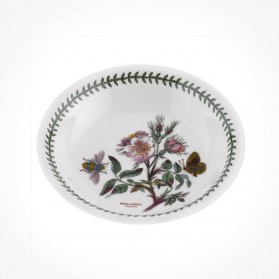 Botanic Garden 8 inch Pasta Bowl Dog Rose