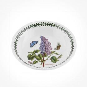 Botanic Garden 8 inch Pasta Bowl Garden Lilac