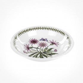 Botanic Garden 8 inch Pasta Bowl Treasure Flower