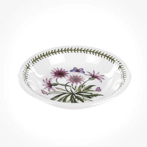 Botanic Garden 8 inch Pasta Bowl Treasure Flower