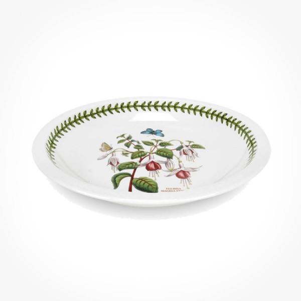 Botanic Garden 8.75 inch Low Bowl Fuchsia