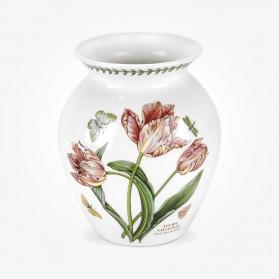 Botanic Garden 8 inch Vase - Parrot Tulip