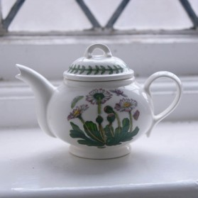 Botanic Garden Teapot 1 Cup Daisy