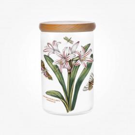Portmeirion Botanic Garden Storage Jar 7 inch Belladonna Lily