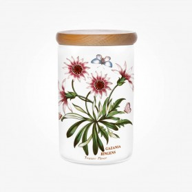 Portmeirion Botanic Garden Airtight Jar 7 inch Treasure Flower