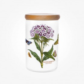 Portmeirion Botanic Garden Airtight Jar 7 inch Sweet William