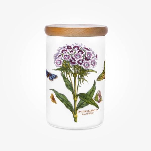 Portmeirion Botanic Garden Airtight Jar 7 inch Sweet William