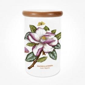 Portmeirion Botanic Garden Airtight Jar 8 inch Magnolia