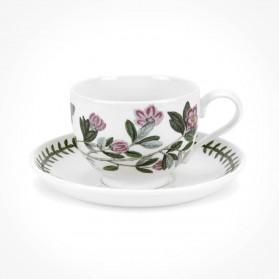 Portmeirion Botanic Garden Teacup/Saucer (T) New Rhododendron